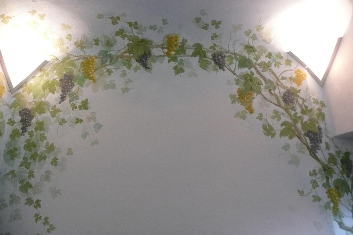 Decorando-uva-grande