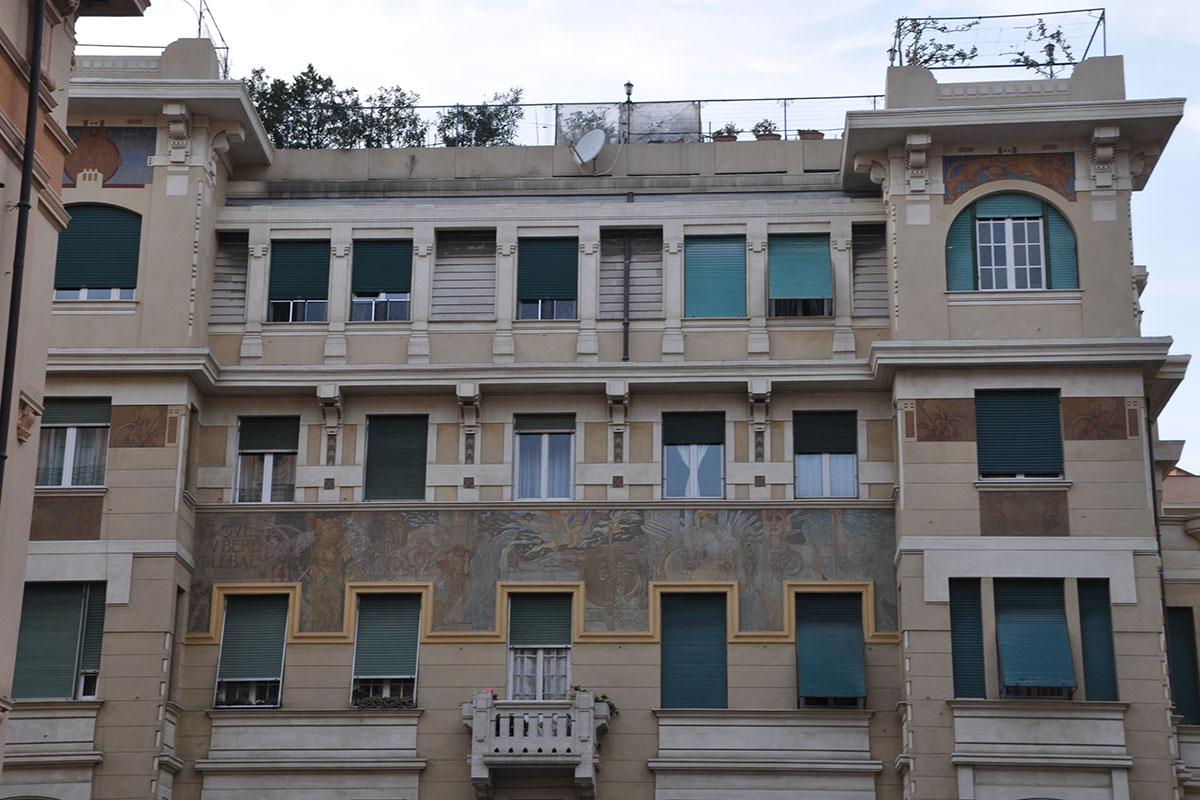 decorando-facciata-Montevideo-Grande